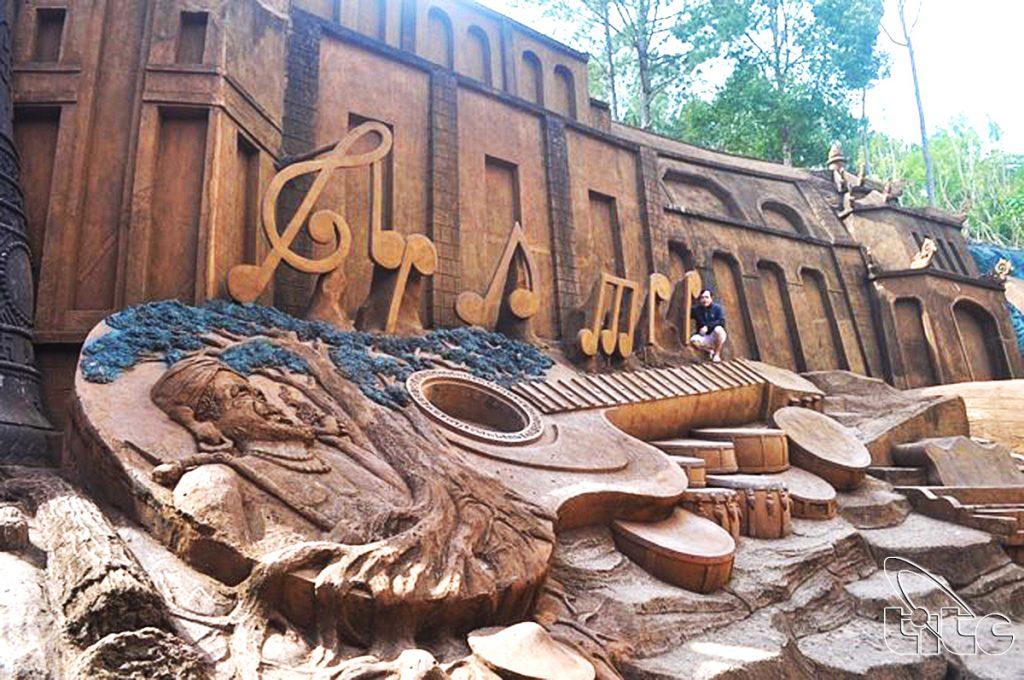 Đường điêu khắc- Đường hầm đất sét