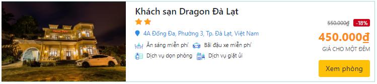 khách sạn dragon đà lạt