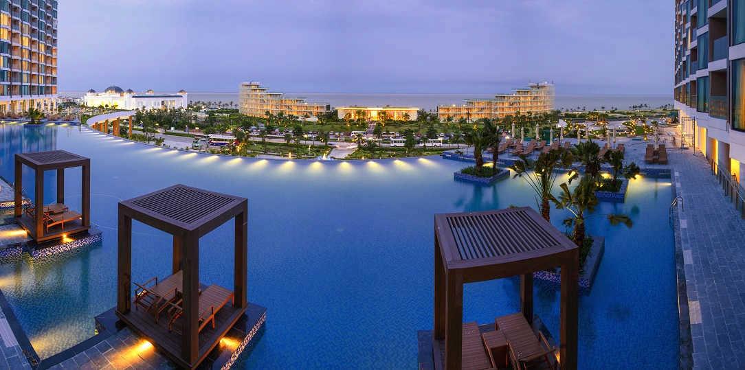 bể bơi flc grand hotel sầm sơn
