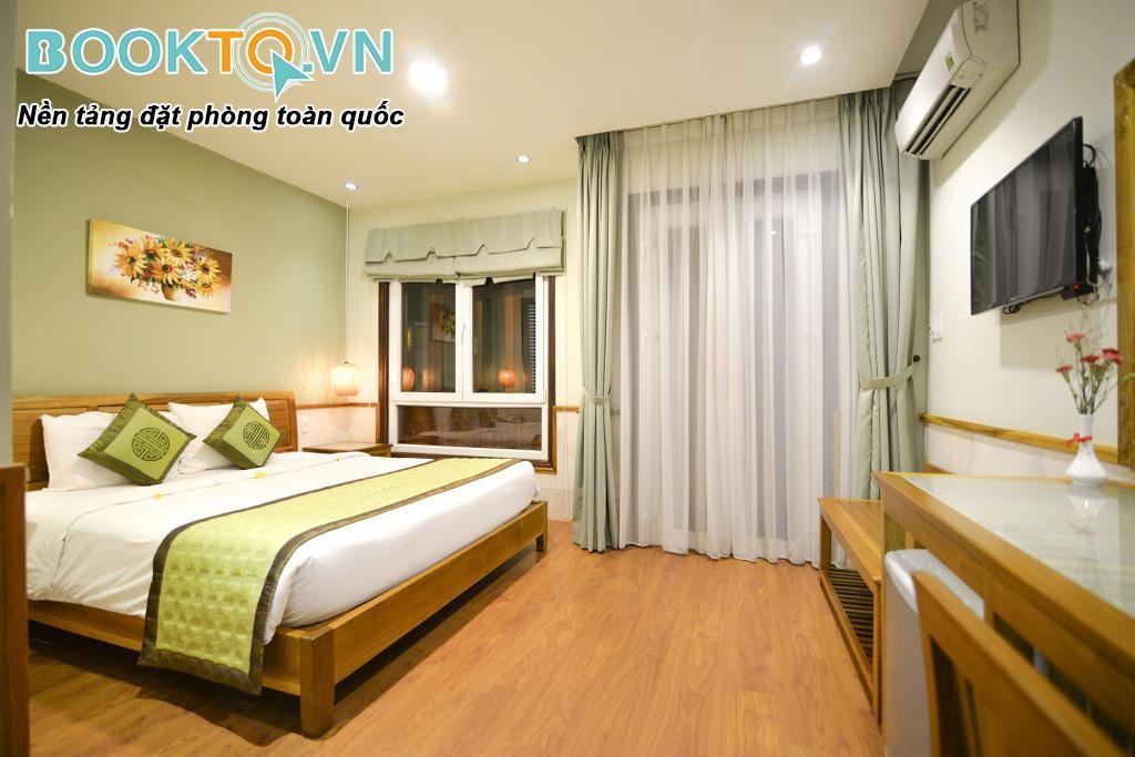 phòng nghỉ của Green Heaven Resort