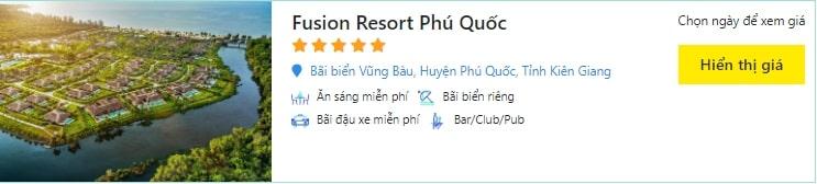 giá phòng fusion resort phú quốc