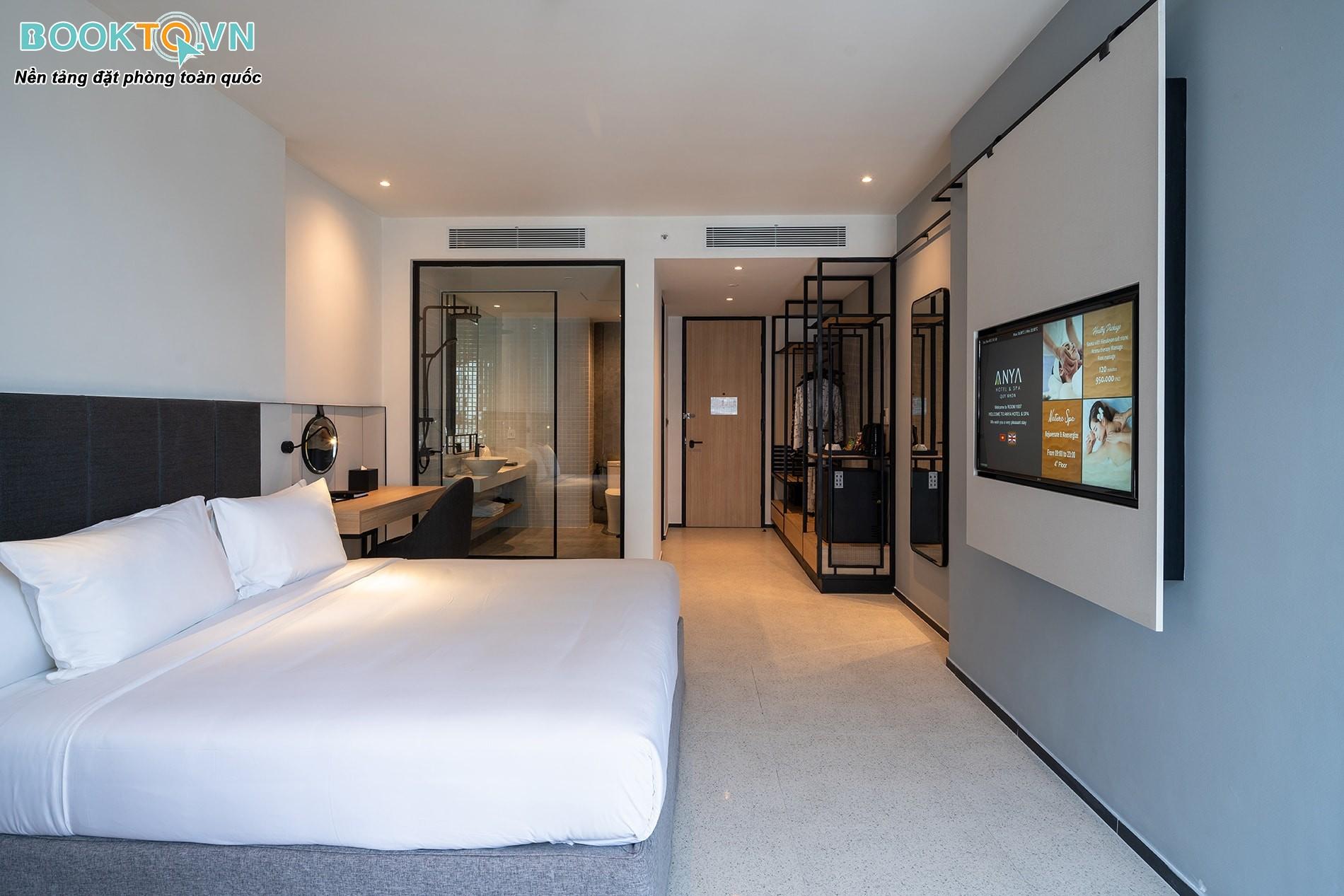 Phòng nghỉ anya hotel quy nhơn